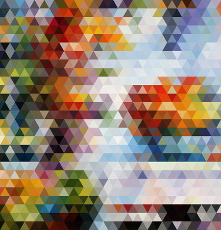 bright triangles vector geometric background with gradients  lines  different colors pattern eps 10 Vector