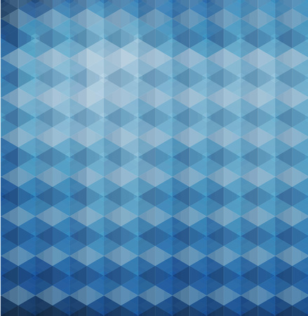 blue triangles hexagons vector geometric background with gradients  lines  different colors pattern eps 10 Vector
