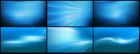 full hd: set Full HD resolution proportions blue bright abstract background vector mesh lines illustration