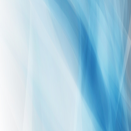 abstract blue waves square vector background Vector