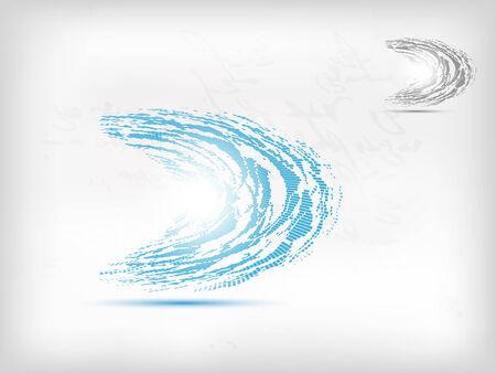 parus: beautiful parus modern blue icon design