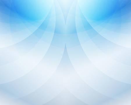 C�u Sky Blue Wave abstrato do vetor Ilustra��o eps 10
