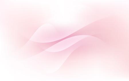 Soft Soft Pastel Light Cloud Waves Sky Background Vector Illustration  イラスト・ベクター素材