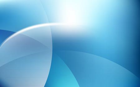 Blue Sky Soft Light Cloud Waves  Background Vector Illustration
