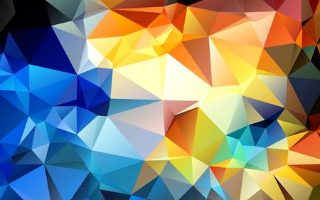 fundo bonito estilo geométrico abstrato geométrico vitrais janela vector