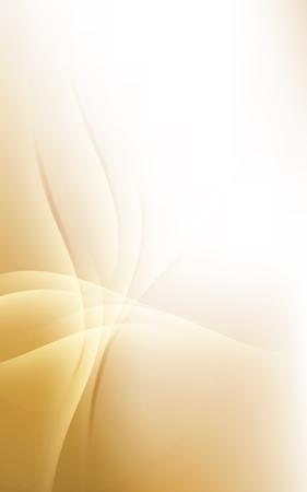 incomparable: Sunny Gold Pale Lines Background Soft Light Cloud Waves Vector Illustration Illustration