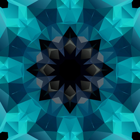 Art Seamless Pattern Background Vector In Geometric Style Illustration