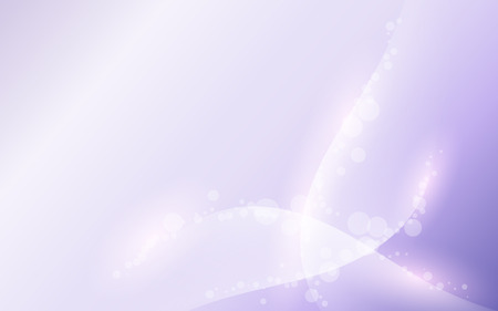 gentle lavender sky waves soft abstract light background with bokeh Illustration