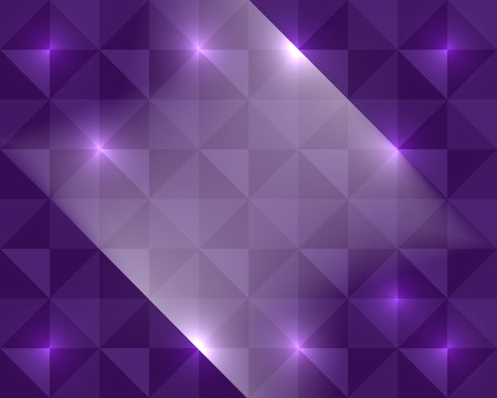 Multicolor purple abstract lights disco background pixel mosaic vector