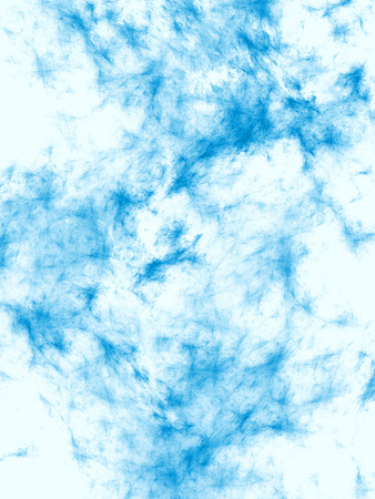 blue pastel sky ragged spots on a white background vertical texture
