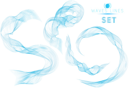 massive: great set blue blend massive waves water abstract background for design isolated template