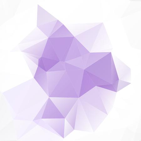 amethyst: Linght Amethyst Polygonal Mosaic Background Creative Design Illustration