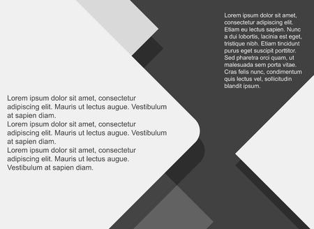 Hintergrund moderne Materialdesign. Abstrakte Abbildung. Wohnung Stil mit langen Schatten