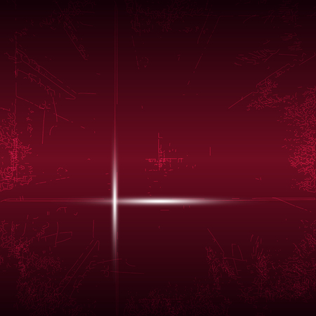 industrial noise: Red abstract background noise texture light lines technology vector