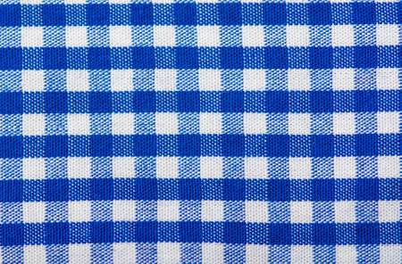 cotton fabric: Cotton fabric texture blue checkered