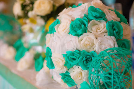 wedding decor: Wedding decor and paper flowers