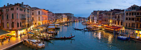 Panoramic view of Venice photo