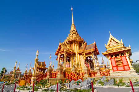 Royal Thai crematory for only Thai royal family  photo