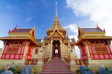 pla: The crematory for only Thai royal family members