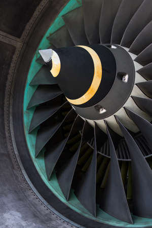 aeronautical: The part of engine of aircraft.