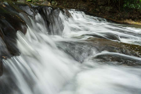 northwest: Some part of the waterfall in Thailand.