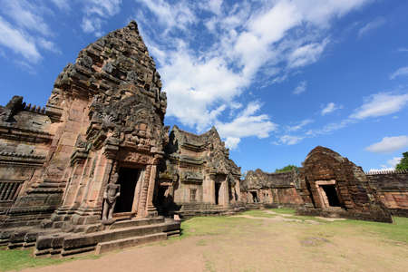 buriram: A ancient temple in Thailand.