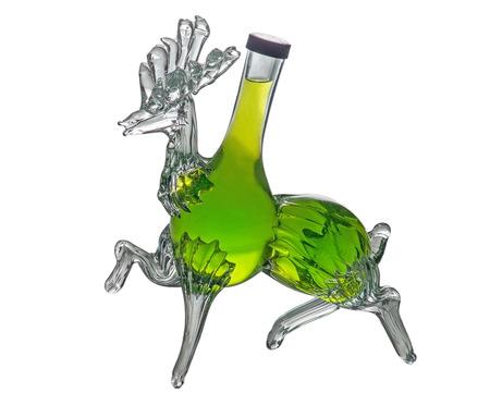 bar ware: Decorative bottle stag