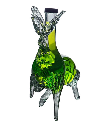 bar ware: Decorative bottle stag