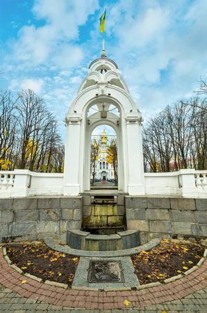 Mironositskaya church in winter