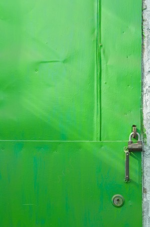 Abstract green door portrait orientation