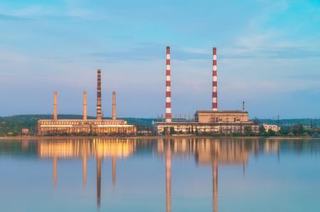 Power plant in Nikolaevka, Ukraine