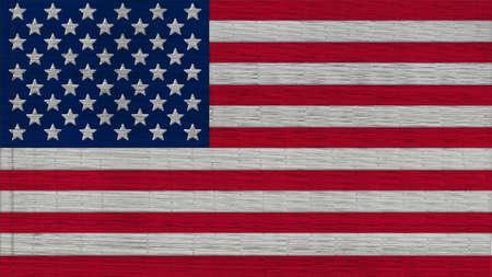 big size: United States Flag mats texture big size