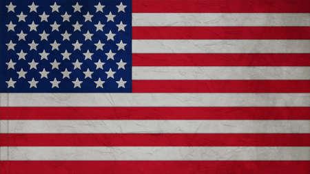 big size: United States Flag corrugate texture big size  Stock Photo