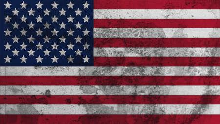 big size: United States Flag old texture big size