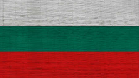 spangled: Bulgaria Flag Japanese mats texture