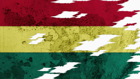 lacerate: Bolivia Flag lacerate texture