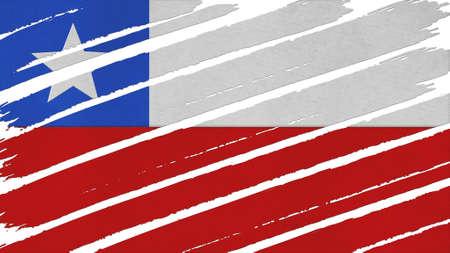 bandera chile: Bandera Chile textura te�ido