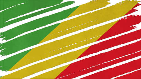 tinted: Republic of the Congo Flag tinted texture