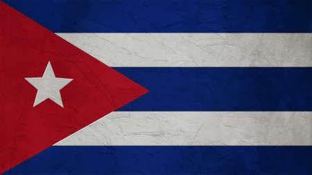 spangled: Cuba Flag Crepe Paper texture