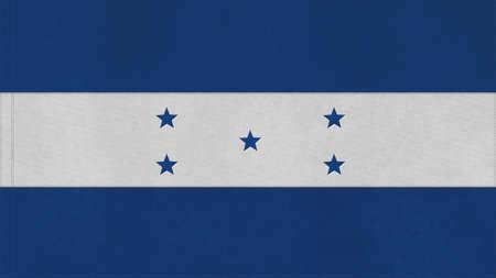 bandera honduras: Honduras textura, marca con costura