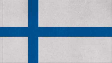 clime: finland flag texture with seam Stock Photo