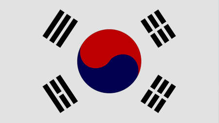 clime: Korea South flag texture