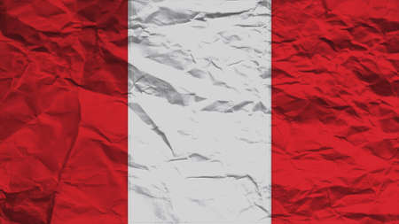 clime: peru flag paper texture with seam