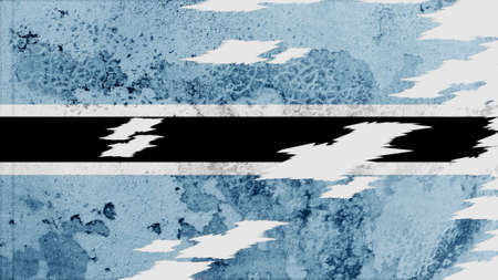 lacerate: botswana Flag lacerate texture