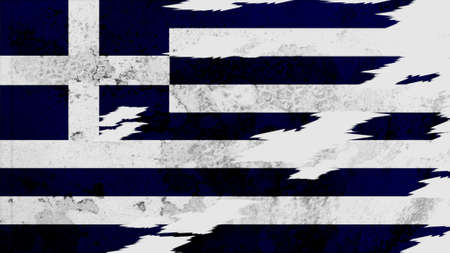 lacerate: greece Flag lacerate texture