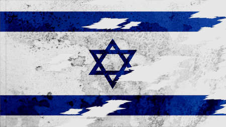 lacerate: israel Flag lacerate texture