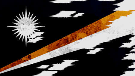 lacerate: Marshall Islands flag lacerate texture