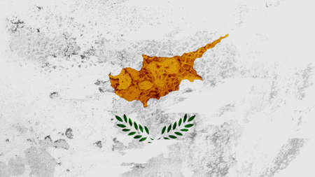 lacerate: Cyprus flag lacerate texture