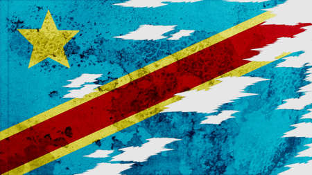 lacerate: the democratic republic of the congo Flag lacerate texture
