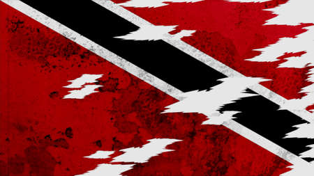 lacerate: trinidad & tobago  Flag lacerate texture